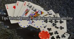 Tips Untuk Pemula Judi Poker Domino Online
